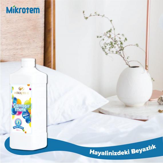 Çamaşır Sıvısı ( Beyazlar için Çiçek Özlü 1000ml )